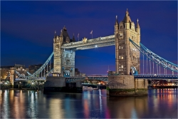Wandbild Tower Bridge von London