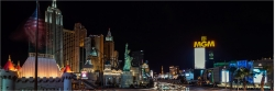 Panoramabild the Strip Las Vegas Nevada Amerika USA