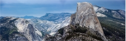 Panoramabild Half Dome Yosemite National Park USA