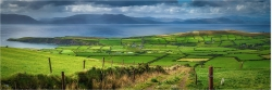 Panoramabild Landschaft von Dingle Kerry Irland