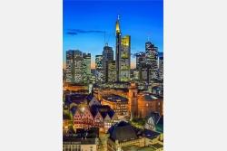 Römer und Bankenviertel Frankfurt