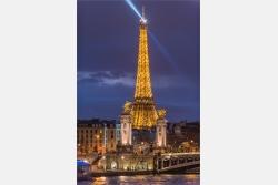Paris Eiffelturm an der Seine