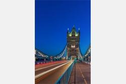 London auf der Towerbridge