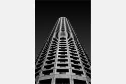 Moderner Hochhausturm