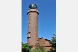 Leuchtturm der Ostsee bei Darß