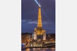 Eiffelturm an der Seine Paris