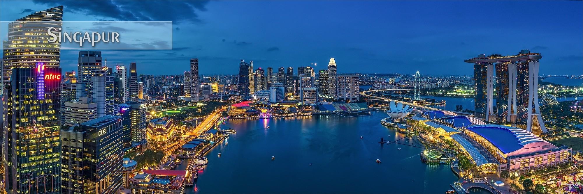 FineArt & Panoramabilder als Wandbild und Küchenrückwand aus Singapur