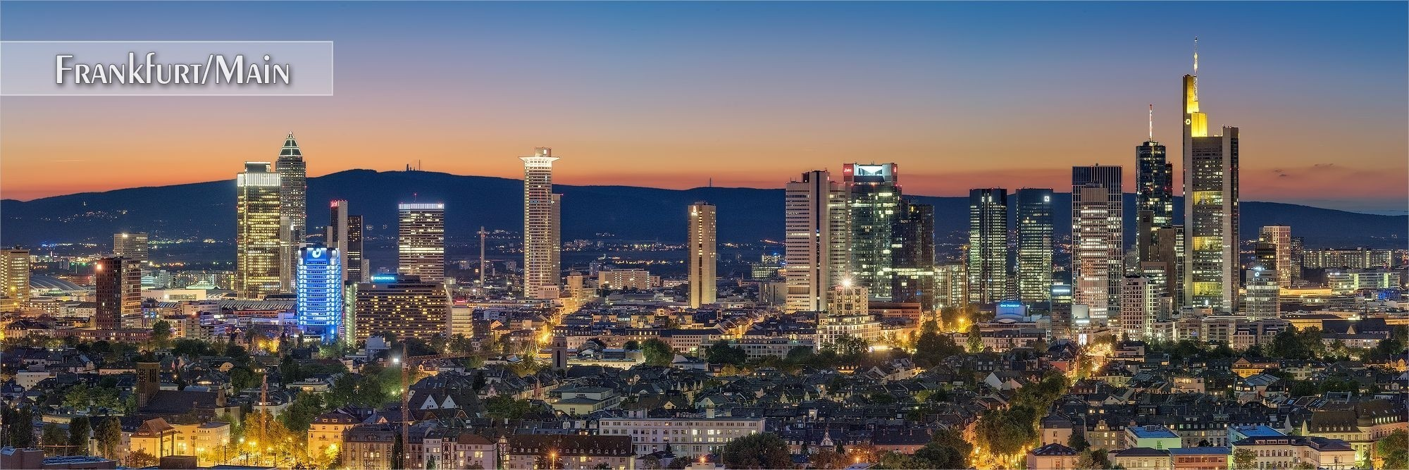 Bilder aus Frankfurt/Main als Wandbild oder Küchenrückwand