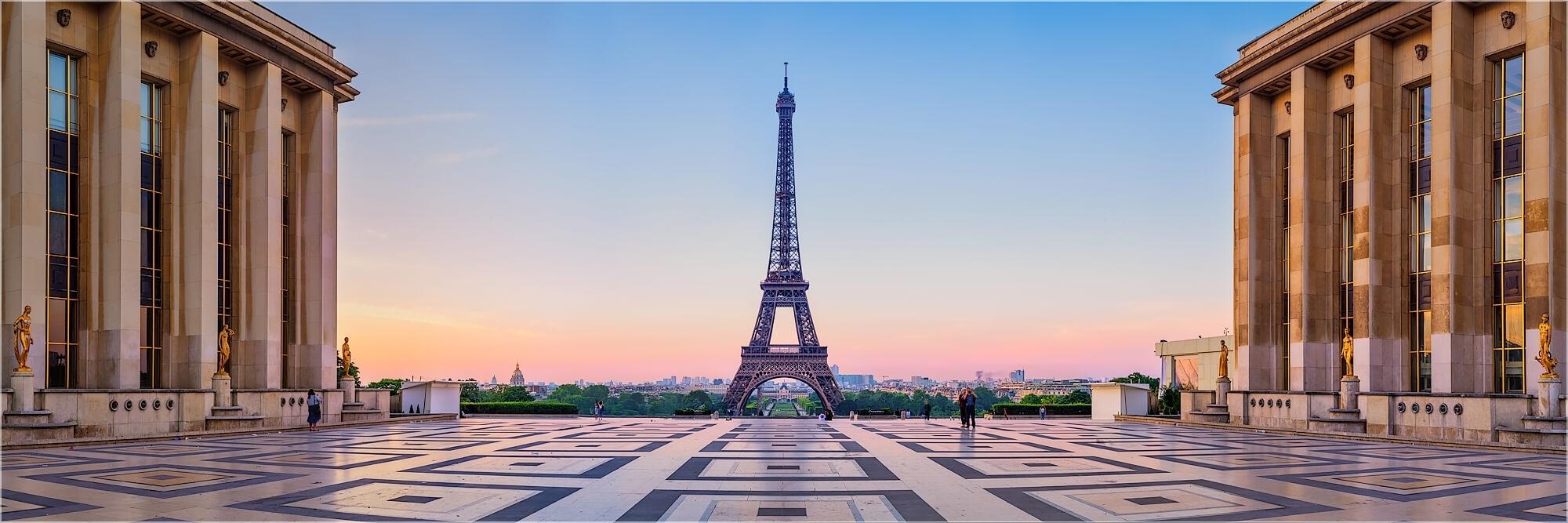 Bilder aus Paris als Wandbild oder Küchenrückwand