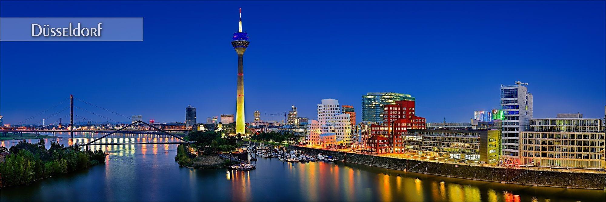 Bilder von Düsseldorf als Wandbild oder Küchenrückwand