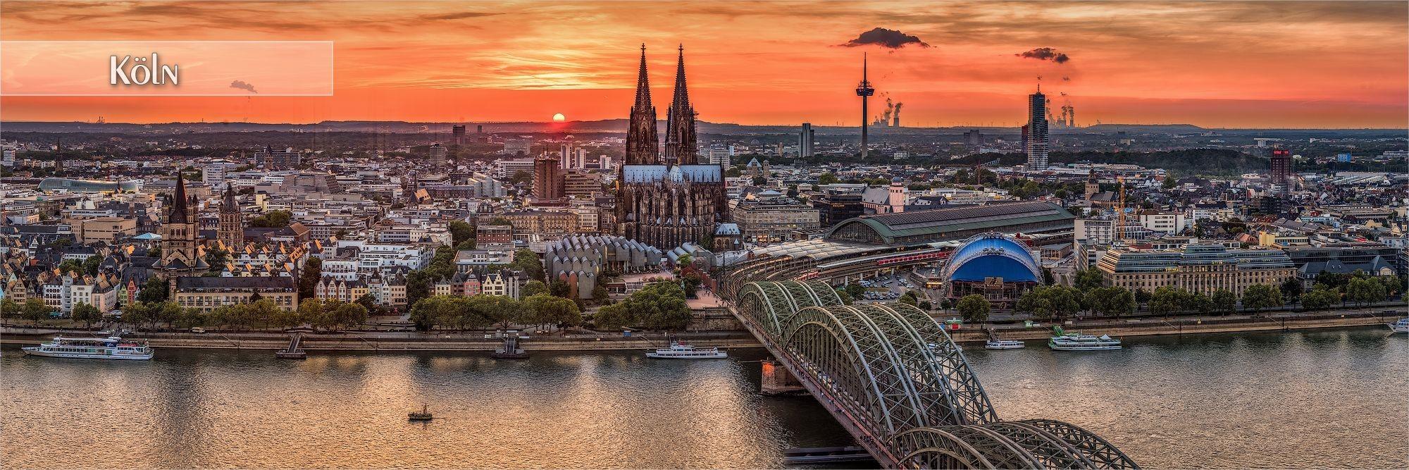 Kölner Bilder als Wandbild oder Küchenrückwand