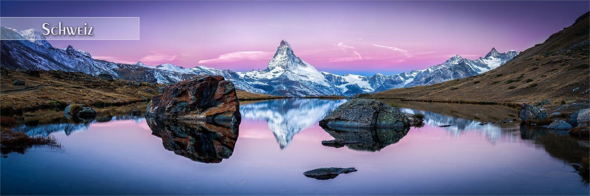Bilder als Wandbild oder Küchenrückwand aus der Schweiz