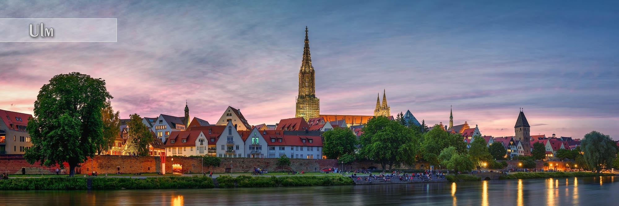 Bilder aus Ulm als Wandbild oder Küchenrückwand